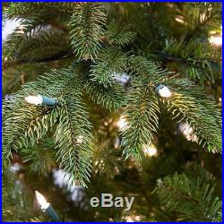 White LED Prelit Fraser Fir Christmas Tree Holiday Decor Decorations Wreaths