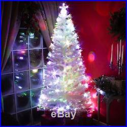 Led Fiber Optic Christmas Trees.White Led Xmas Tree Fibre Optic Christmas Tree With
