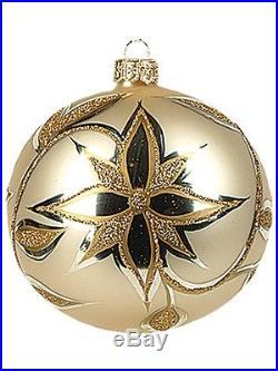 White Star Fine Decoration Polish Glass Christmas Ornament New Tree Decoration