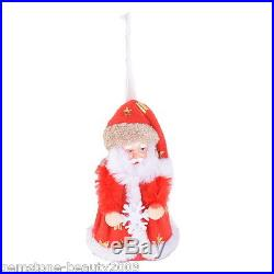 Wholesale Hot Red Santa Claus Doll Toy Christmas Tree Decoration Xmas Day