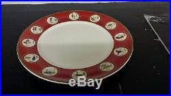 Williams Sonoma 12 Days Of Christmas set of 4 DINNER Plates