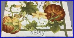 Williams Sonoma Botanical Pumpkin 70×120 Tablecloth