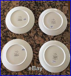 Williams Sonoma New In Box 12 Days Of Christmas Plates Salad Set/12 NWOB