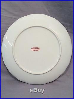 Williams-Sonoma Santa Twas The Night Before Christmas Salad Plates Set/12
