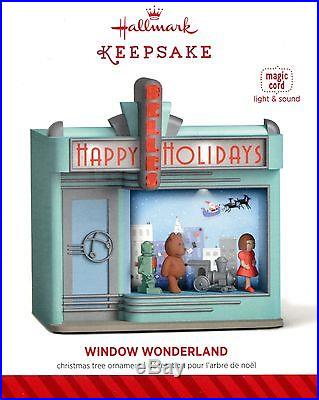Window Wonderland 2014 Hallmark Ornament Free Shipping