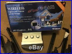 Wireless Lights And Sounds Of Christmas By Mr Christmas Music Light Machine