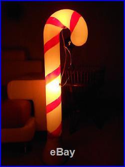 Wonderful old christmas mid century huge outdoor lighted candy canes wonderful old christmas mid century huge outdoor lighted candy canes set of 4 workwithnaturefo
