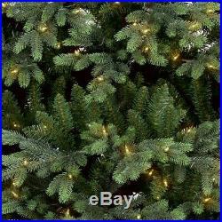 Wondershop 7.5ft Full Prelit Artificial Christmas Tree Indexed Balsam Fir Clear
