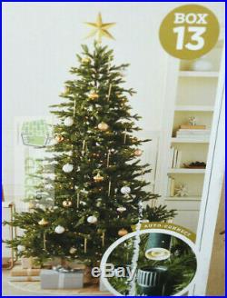 Wondershop Christmas Tree Balsam Fir LIT Clear 7.5′x60 MSRP $380 #13