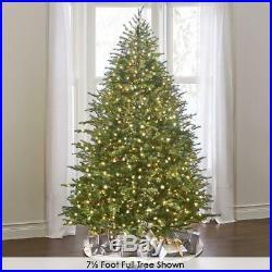 World Best Prelit Douglas Fir FULL WHITE 4.5 Christmas Tree LED Lights