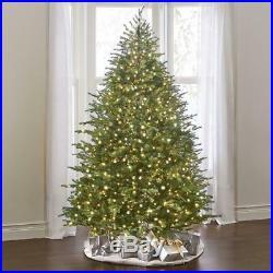 World's Best Prelit Concolor Christmas Tree WHITE/MULTI Fir 7.5′ Slim LED lights