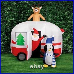 Xmas Christmas Lytworx Inflatable Road Trip Santa