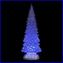 Xmas Tree 25cm Christmas Ornament Colour Changing LED Light Up