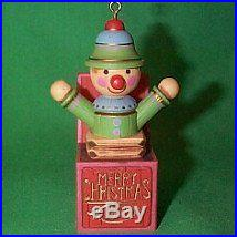 Yesteryears collection Jack in the Box 1977 hallmark ornament